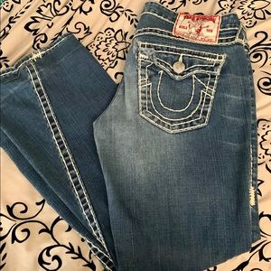 True Religion Joey Jeans Super T stitch